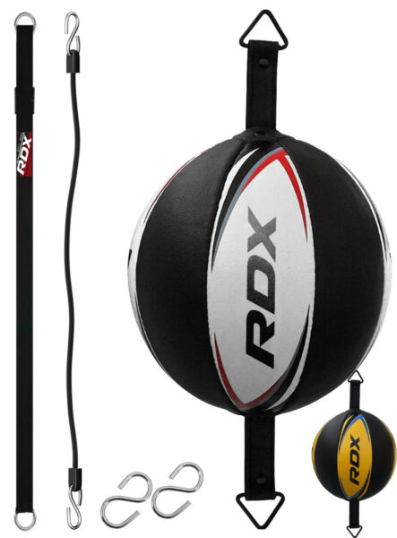 RDX Double End Speed Ball Boxing MMA Dodge Bag Floor to Ceiling Rope Punching U $43.99