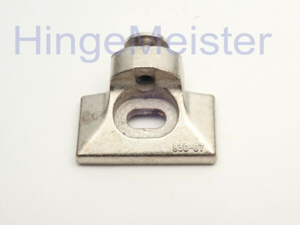 Used Nickel GRASS 830-67 FACE FRAME HINGE MOUNTING PLATES OEM Made in Austria