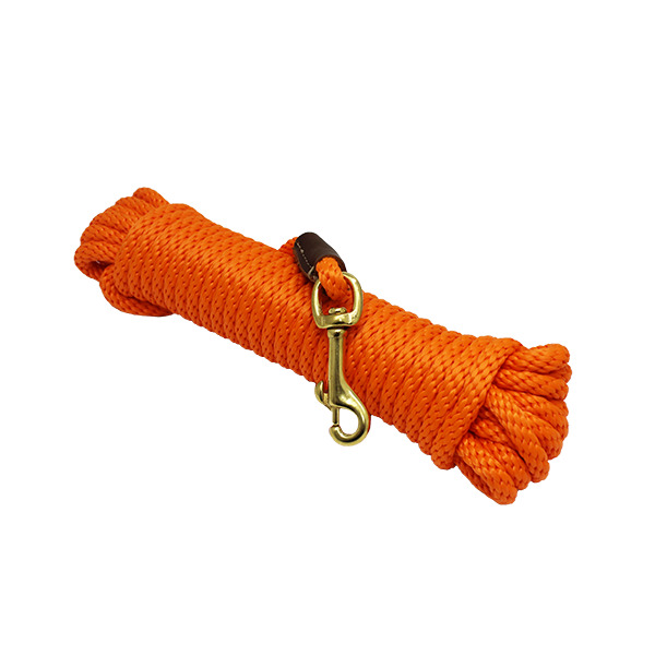 Outdoor Dog Supply Orange 30 ft. Check CordLead Line for Training Dogs