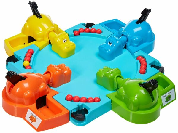 Hungry Frogs Hippos Game Chrismas Funny Kids Toy Gift Family Party Board Toys