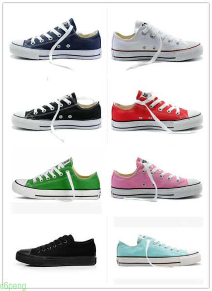 Women Men ALL STARs Chuck Taylor Ox Low High Top Canvas Sneakers Shoes casu