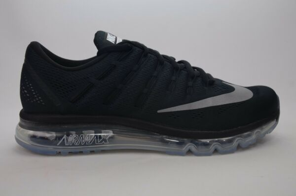 Nike Air Max 2016 Black/White Men's Running Size 8-13 New in Box 806771 001