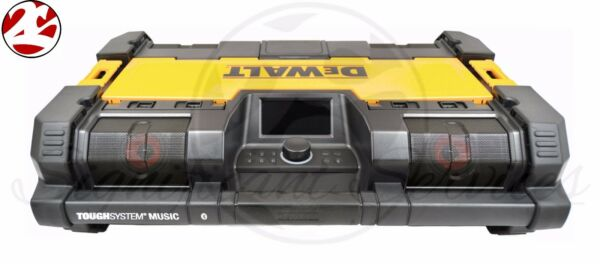 New DeWALT DWST08810 20V MAX ToughSystem Jobsite Radio Worksite Battery Charger