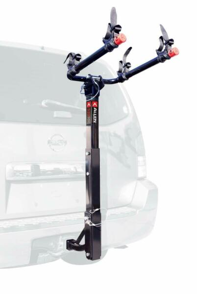 Allen Sports Deluxe Hitch Mounted Bike Rack Car 2 bike: 2quot; amp; 1.25quot; Hitch $105.44