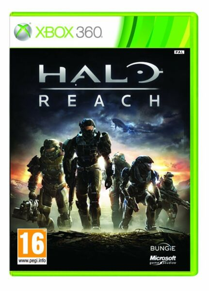 Halo Reach Xbox 360 Hard Copy Brand New Factory Sealed