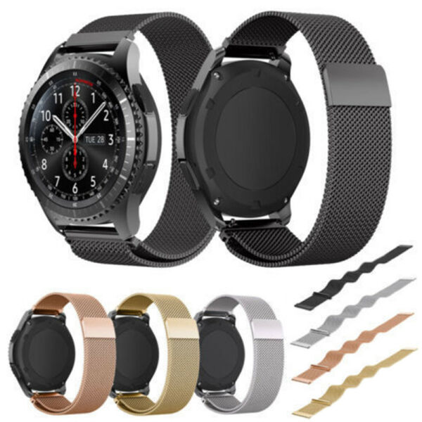 For Samsung Gear S2  S3 Metal Watch Band Stainless Steel Bracelet Wristband