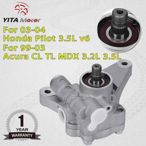 Fit For 2003 2004 2005 2006 2007 Honda Accord 3.0L V6 Auto Power Steering Pump