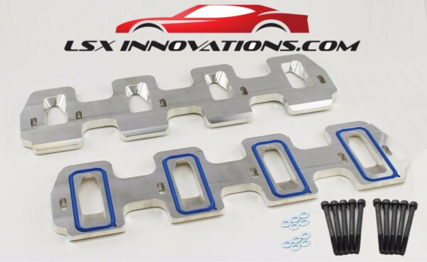LSA Supercharger Adapter Plate Cathedral to LS3 Adapter CNC Billet Aluminum LSA