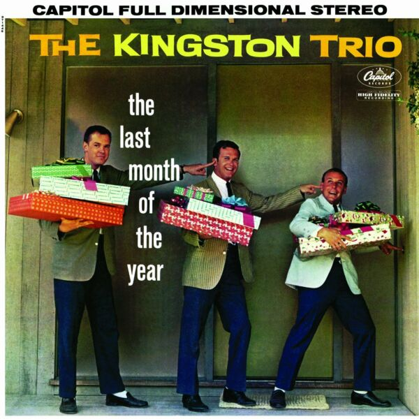 The Kingston Trio: The Last Month of the Year. CD Christmas Holiday Music