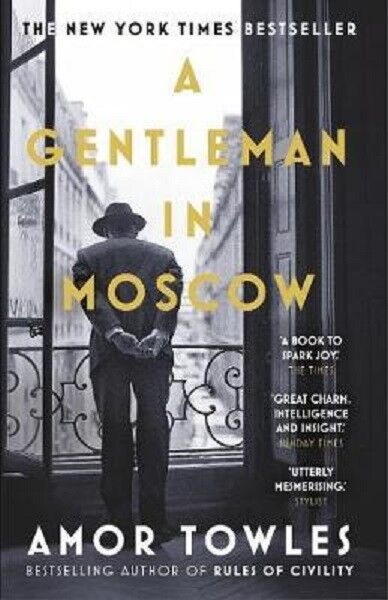 A Gentleman in Moscow (2018) - Book of the Year - send worldwide - enjoy :)