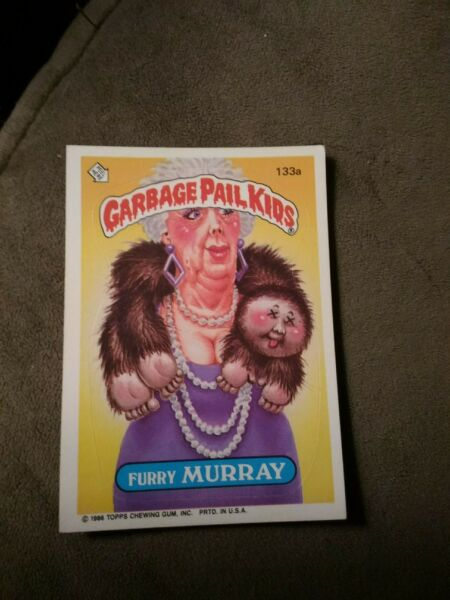 Garbage Pail Kids 1986 #133a Furry Murray FREE SHIPPING