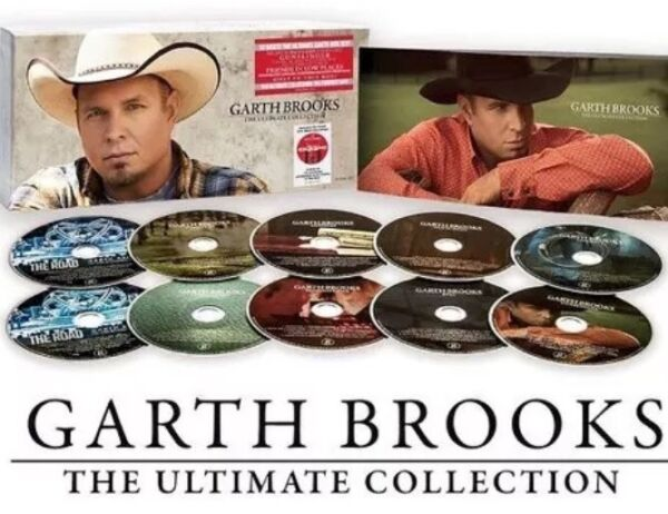 Garth Brooks - The Ultimate Collection - 10 Disc Set - CDs - Music - New  Sealed