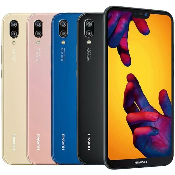 Huawei P20 Lite 64GB Android Smartphone Handy ohne Vertrag LTE/4G Octa-Core NEU