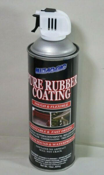 Blue Magic Black Rubberized Undercoating 15 oz. Container Size - 950