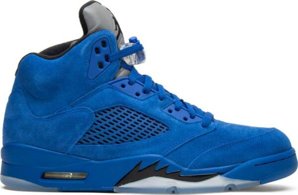 Nike Air Jordan V Retro 5 Blue Suede Game Royal 136027-401 Authentic lot
