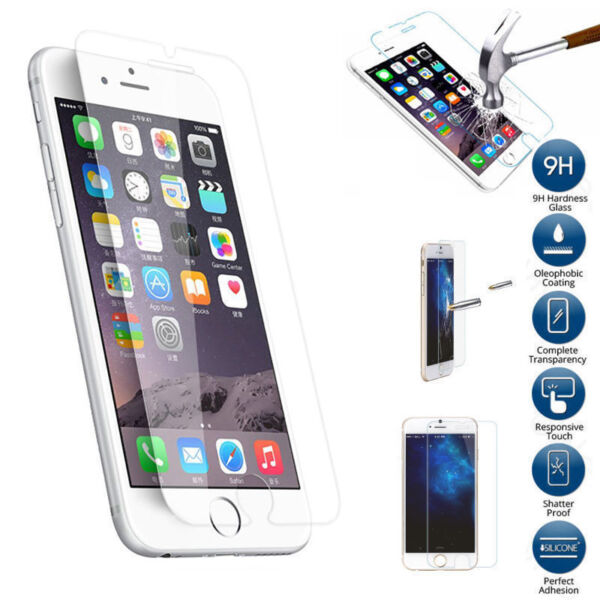 Premium Real Screen Protector Tempered Glass Film For iPhone 6 6S 7 8 X 11 Plus $5.19
