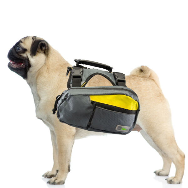 2 in 1 Dog Harness and Hiking Dog Backpack For Outdoor Use Gear Travel Camping $11.49