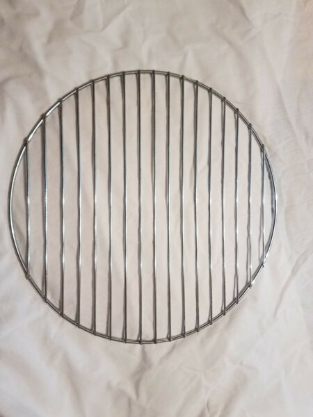 2 NEW ROUND GRILL GRATES 15.5quot; BRINKMANN SMOKER INCLUDES 2 GRATES