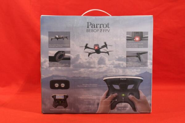 Parrot Bebop 2 FPV - 14MP - 1.4 Miles - 25min Fly Time - HD Video Drone NEW