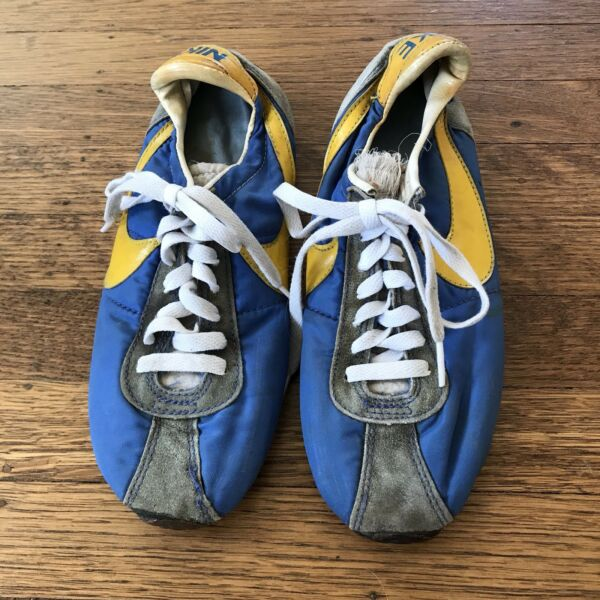Nike Running Shoes Vintage Original Very Rare 1970's 80's Size 7 12 7.5