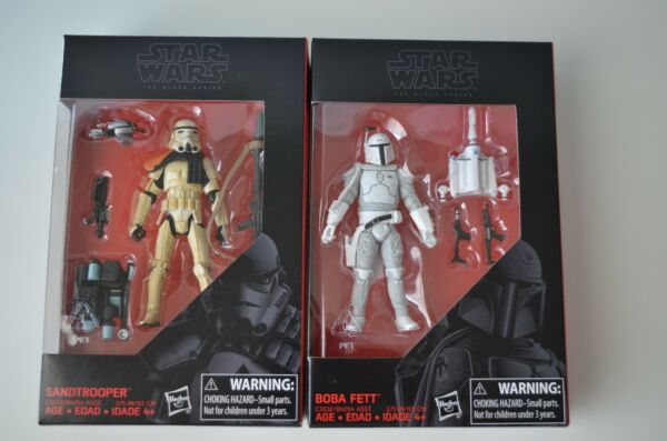 Lot of 2 Star Wars Black Series 3 3/4