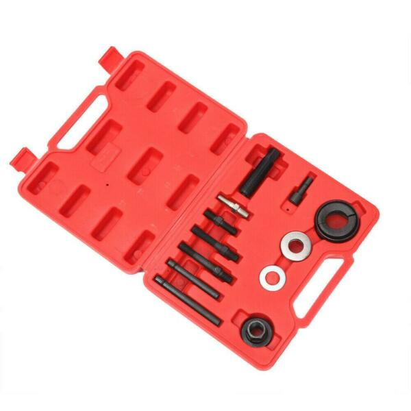13PC Alternator Pulley Removal Tool for GM Ford Engine Power Steering Puller Kit