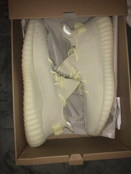 NEW DS Adidas Yeezy Boost 350 V2 Butter F36980 Kanye ON HAND