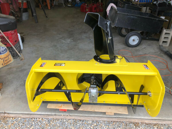 John Deere 47 Snowblower for X500 Multi-Terrain Tractors. Never Used!