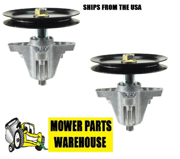 2 NEW BLADE DECK SPINDLE ASSEMBLY MTD CUB CADET 618-04636 918-04636 918-04865
