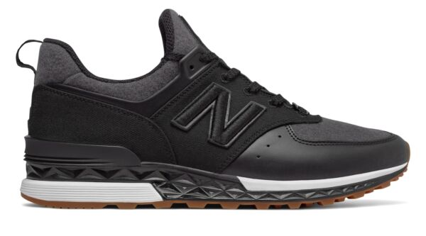 New Balance Men's x New Era 574 Sport Shoes Black