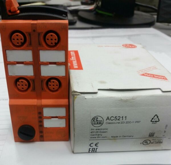 1PC IFM module AC5211 New in box.  Never used.  Free shipping!!
