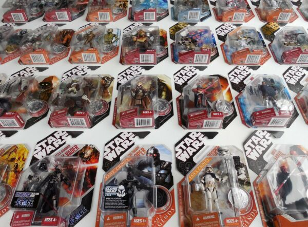 Star Wars - 30th Anniversary/Saga Legends (2007-2008) Action Figures