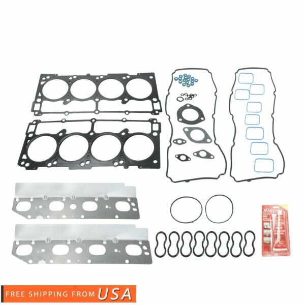Head Gasket Bolts Set Kit Fit For Chevrolet Oldsmobile Pontiac 3.1L 3.4L OHV