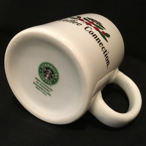 Starbucks 1994 THE COFFEE CONNECTION Acquisition MugCup ULTRA RARE!