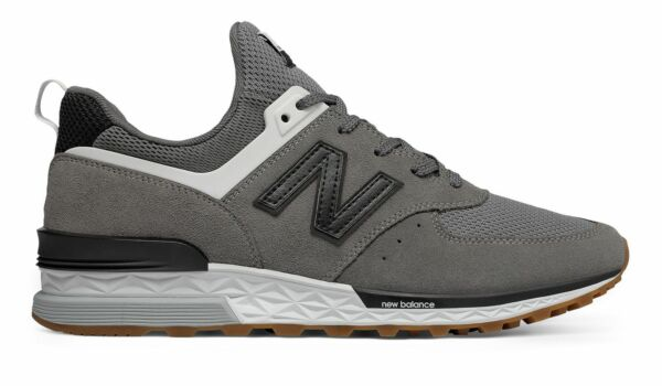 New Balance Men's 574 Sport Shoes Grey with Black