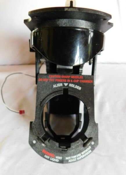 GENUINE B70 KEURIG K CUP HOLDER LOWERUPPER CHAMBER COMPLETE ASSEMBLY
