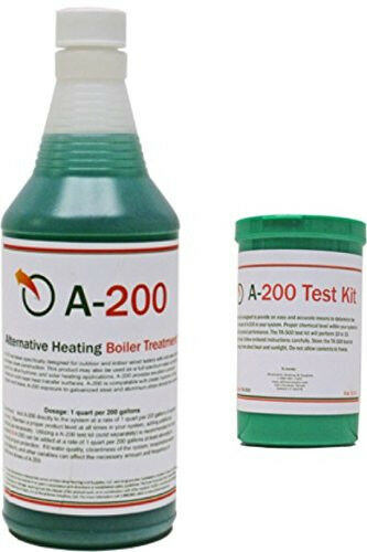 A200 Outdoor Boiler Water Treatment amp; Test Kit $55.98
