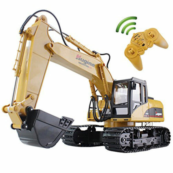Remote Control Construction Excavator RC Tractor Bulldozer Crawler Truck Toy15CH