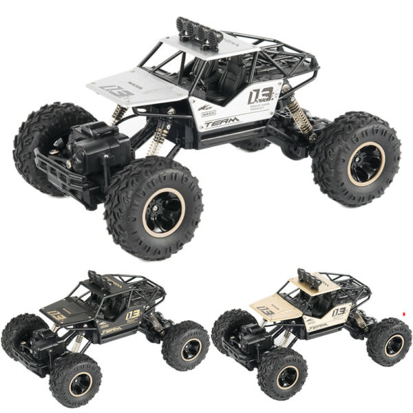 Remote Control Cars Off Road RC Truck 4WD 1:16 Vehicle 2.4 G Buggy Crawler Toys