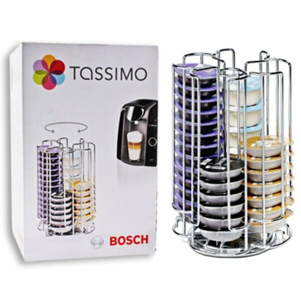 GENUINE BOSCH TASSIMO 52 T-DISC  POD  CAPSULE COFFEE STORAGE HOLDER