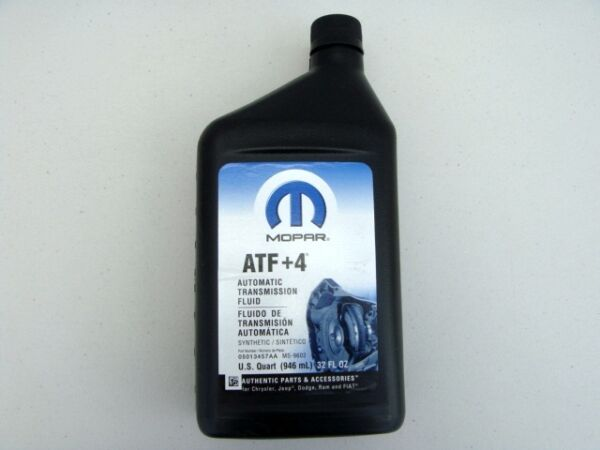 DODGE CHRYSLER JEEP 1991 - 2013 SYNTHETIC ATF+4 AUTOMATIC TRANSMISSION FLUID