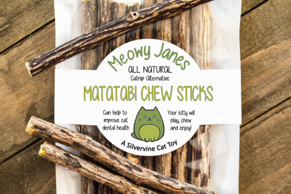 Matatabi Chew Sticks- Silvervine Cat Toy- Catnip Alternative- All Natural $9.97