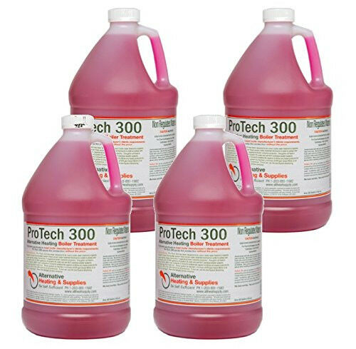 Outdoor Wood Boiler Treatment ProTech 300 Boiler Treatment Pack of 4 1 Gal... $184.96