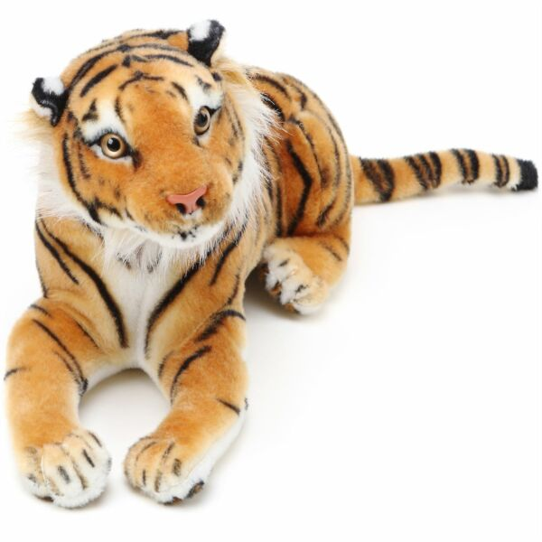 Arrow the Tiger 2 ft Long Paw to End of Tail Stuffed Animal Plush Cat