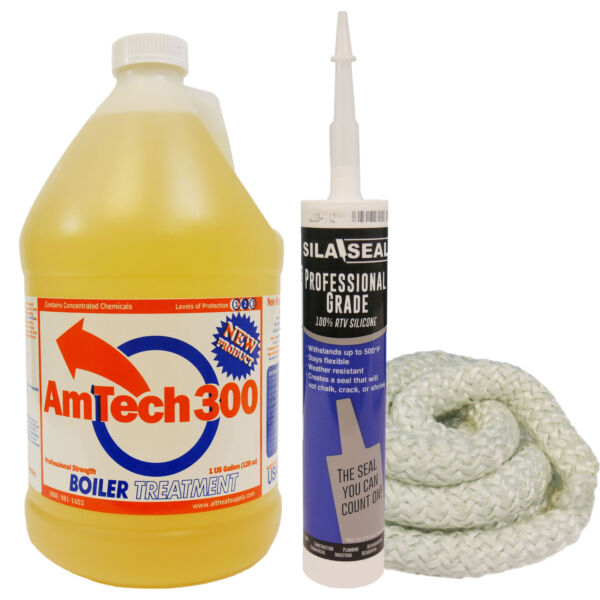 Outdoor Wood Boiler Water Treatment Yearly Maintenance Kit 9 feet of1quot; Fire Rope $58.96