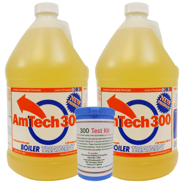 Outdoor Wood Boiler Water Treatment Rust Inhibitor 2 AmTech 300 amp; Test Kit $78.99