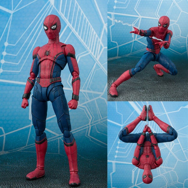 SHF S.H.Figuarts Marvel Spider-Man Homecoming Spiderman Hero Action Figure Toy