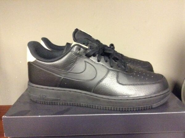 Mens Nike Air Force One 1 '07 LV8 Low Black 718152-016 NEW