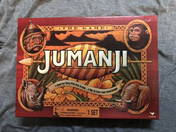 "NEW Jumanji ""The Game"" Board Game - By Cardinal"