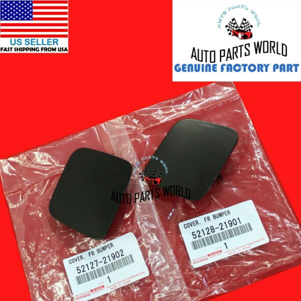 NEW GENUINE OEM SCION 2011 2013 tC RIGHT amp; LEFT FRONT BUMPER HOLE COVER SET OF 2 $19.95